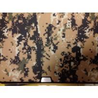 Защитный чехол-накладка BTA-Workshop для Apple MacBook Pro Retina 15 комуфляж темно-желтый