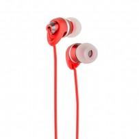 Наушники Remax RM-585 Metal Touching Earphone Red Красные