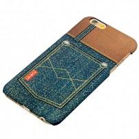 Накладка пластиковая Umku Jeans для iPhone 6s/ 6 (4.7) Soft-touch вид 6