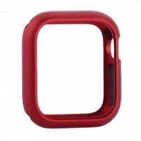 Чехол алюминиевый бампер COTEetCI магнитная рамка для Apple Watch Series 4/5 (CS7057-RD) 40мм Красный
