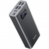 Аккумулятор внешний универсальный Hoco J46A 20000 mAh Star ocean mobile power bank (4USB:5V-2.0A Max) Серый