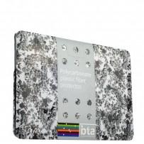 Защитный чехол-накладка BTA-Workshop для Apple MacBook 12 Retina вид 3 (цветы)