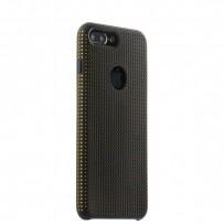 Чехол-накладка силиконовый COTEetCI Vogue Silicone Case для iPhone 7 Plus (5.5) CS7025-BK-OR Черный/ Оранжевый