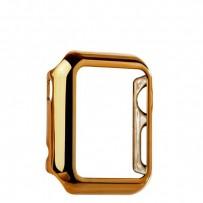 Чехол пластиковый COTEetCI Soft case для Apple Watch Series 1 (CS7015-CE) 38мм Золотистый