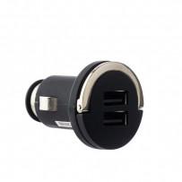 Разделитель автомобильный Deppa Ultra 2.1A D-11204 (USB: 5V 1A & 5V 2.1A) Черный