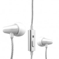 Наушники COTEetCI Earphone EH04-MINI POTTERY CS3013-WH Белые
