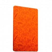 "Чехол-подставка Deppa Wallet Onzo для Apple iPad Pro (9.7"") с тиснением (PU эко-кожа) 1.0мм D-88024 Оранжевый"