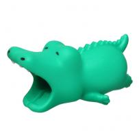 """Зверушка-игрушка для защиты кабеля от износа """"Крокодильчик"""" для iPhone"""