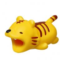 """Зверушка-игрушка для защиты кабеля от износа """"Тигрёнок"""" для iPhone"""