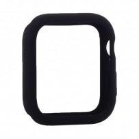 Чехол силиконовый бампер COTEetCI Liquid Silicone Case для Apple Watch Series 4/5 (CS7067-BK) 40мм Черный