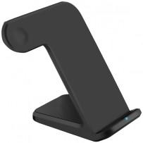 Беспроводное зарядное устройство COTEetCI для Apple iPhone/ Watch/ Air Pods 3в1 Wireless Charger (CS5169-BK) Черный