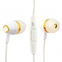 Наушники Hoco M4 Colorful Universal Earphone (1.2 м) с микрофоном White
