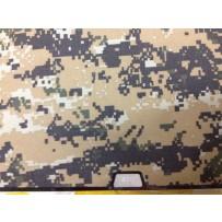 Защитный чехол-накладка BTA-Workshop для Apple MacBook Air 13 комуфляж темно-желтый