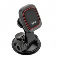 Автомобильный держатель Hoco CA28 Happy journey series suction cup magnetic holder магнитный универсальный с присоской черный