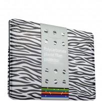 Защитный чехол-накладка BTA-Workshop для Apple MacBook 12 Retina вид 1 (зебра)