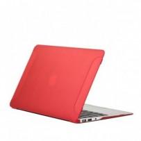 Защитный чехол-накладка BTA-Workshop для Apple MacBook Air 11 матовая красная