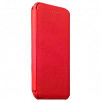 Чехол-книжка кожаный i-Carer для iPhone 6s Plus/ 6 Plus (5.5) Transformers Litchi Pattern Series (RIP6006red) Красный