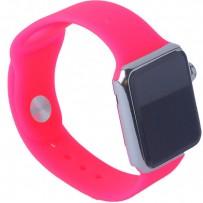 Муляж Apple Watch 38мм Серебристый/ розовый ремешок