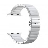 Ремешок керамический Deppa Band Сeramic D-47118 для Apple Watch 40мм/ 38мм Белый