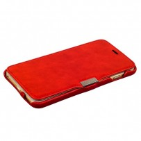 Чехол-книжка кожаный i-Carer для iPhone 6s Plus/ 6 Plus (5.5) vintage series side-open (RIP6003red) красный