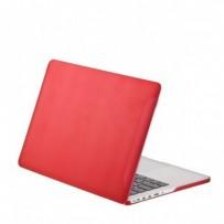 Защитный чехол-накладка BTA-Workshop для Apple MacBook Pro Retina 13 матовая красная