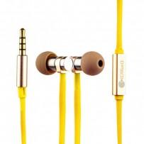 Наушники COTEetCI Earphone EH03-VOGUE METAL CS3012-GD Золотистые
