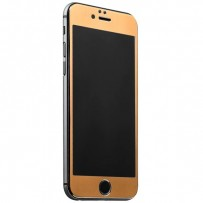 Стекло защитное&накладка пластиковая iBacks Full Screen Tempered Glass для iPhone 6s/ 6 (4.7) - (ip60181) Gold Золотистое