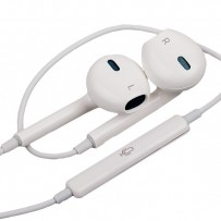 Наушники EarPods with Remote and Mic с пультом дистанционного управления и микрофоном MD827FE/A ORIGINAL