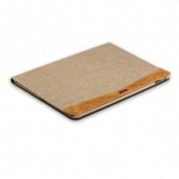 "Чехол тканевый XOOMZ для iPad Pro (10,5"") Simple Fabric Material Made Folio Cover Erudition Series (XID712beige) Бежевый"