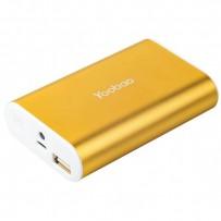 Аккумулятор внешний универсальный Yoobao Power Bank Master M3 (USB выход: 5V 2.1A) Gold 7800 mAh ORIGINAL