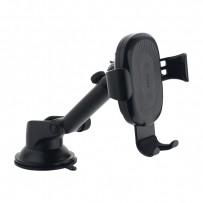 Автомобильное беспроводное Qi зарядное устройство Baseus WXYL-A01 Osculum Type Wireless Charger (5V/2A, 9V/1.7A) Черный