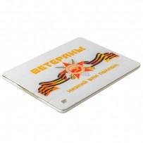 Чехол-книжка кожаный Jisoncase Executive Print для iPad 4/ 3/ 2 JS-IPD-06 с рисунком (праздники) Ветераны: поклон Вам тип 002