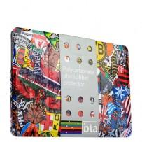 Защитный чехол-накладка BTA-Workshop для Apple MacBook 12 Retina вид 4 (футбол)