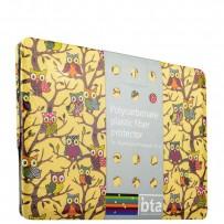 Защитный чехол-накладка BTA-Workshop для Apple MacBook Air 11 вид 6 (совы)