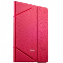 Чехол iBacks VV Structure Leather Case для iPad Air 2 - Venezia (ip60071) Pink Розовый