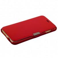 Чехол-книжка кожаный i-Carer для iPhone 6s Plus/ 6 Plus (5.5) luxury series side-open (RIP6001red) красный