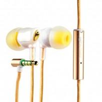 Наушники COTEetCI Earphone EH-02-CERAMICS CS3011-GD Золотистые