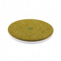 Беспроводное зарядное устройство XOOMZ (5-9V-2A) Fabric Wireless Fast Charging (XZC0001green) ткань Зеленый