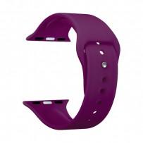 Ремешок силиконовый Deppa Band Silicone D-47125 для Apple Watch 40мм/ 38мм Бургунди