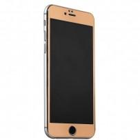 Стекло защитное&накладка пластиковая iBacks Full Screen Tempered Glass для iPhone 6s Plus/ 6 Plus (5.5) - (ip60185) Золотистое