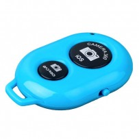 Фотопульт Bluetooth для iOS/ Android Remote Shutter Blue Голубой