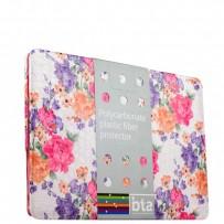 Защитный чехол-накладка BTA-Workshop для Apple MacBook Pro 13 вид 5 (цветы)