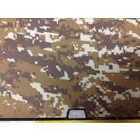 Защитный чехол-накладка BTA-Workshop для Apple MacBook Air 13 комуфляж светло-желтый