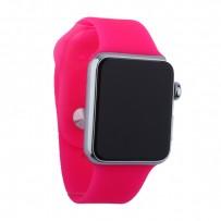 Муляж Apple Watch 42мм Серебристый/ розовый ремешок