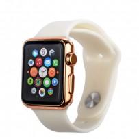 Муляж Apple Watch 42мм Розовое золото/ белый ремешок