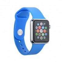 Муляж Apple Watch 38мм Серебристый/ синий ремешок