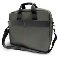 "Сумка Ferrari для ноутбуков 15"" сумка Off-track Computer bag Metal Logo Green"