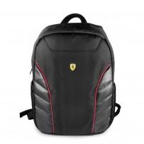"""Рюкзак Ferrari для ноутбуков 15"""" Scuderia Backpack Compact Full Black"""