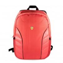 """Рюкзак Ferrari для ноутбуков 15"""" Scuderia Backpack Compact Full Red"""