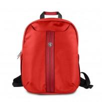 """Рюкзак Ferrari для ноутбуков 15"""" Urban Backpack Slim Nylon/PU Red"""
